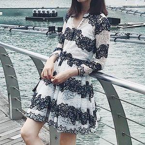 MAJE lace dress